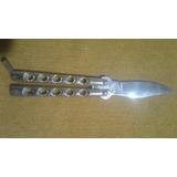 Canivete Stainless Dorado Dobravel