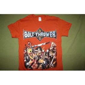 Gusanobass Playera Rock Metal Death Bolt Thrower Warmaster