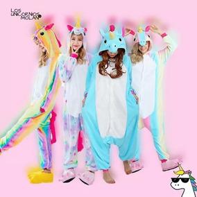 Pijamas Unicornio Kigurumis Importados Multicolor