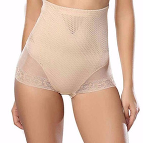 Beige - L - Mujeres Dama Encaje Sexy Ropa Interior Pant-0143