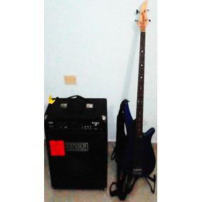 Planta De Bajo Fender Y Bajo Yamaha