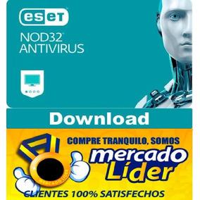 Eset Nod32 Antivirus V12 2019 Para 3 Pc 2 Años Windows / Mac