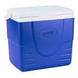Caixa Térmica Cooler Coleman 16qt 15,1 Litros Compacta Azul