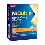 Niquitin 2ª Fase (14mg) C/7 Adesivos