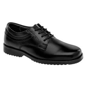 Zapato Escolar Niño Yuyin 28050 Negro 15-25 Envió Inmediato