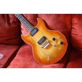 Guitarra Vox Sdc-33 Teaburst (nueva Con Estuche)