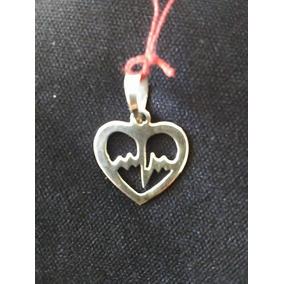 Dije Corazón Plata Ley .925