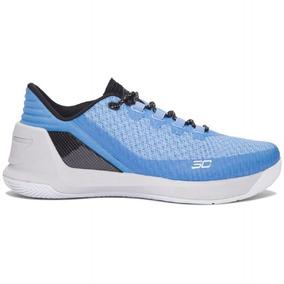 bfe37132a03 Nba Tenis Under Armour Sc3 Stephen Curry 3 Low Azul Original