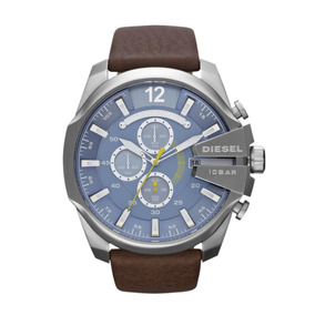 Reloj Diesel Dz4281 Mega Chief Chrono Brown + Envio Gratis
