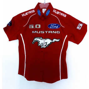 Camisa Ford Mustang F1 Nascar Racing Rally Pits Escuderia 4d227f58840