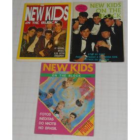 Nkotb New Kids On The Block Lote C/3 Revistas-poster Antigas