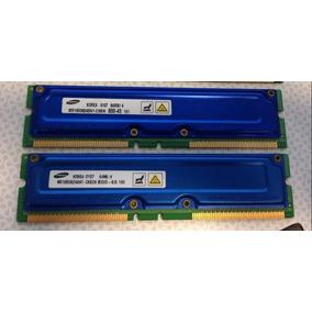 Memoria Ram Samsung Mr16r0824bn1-ck8in 64mb X 2