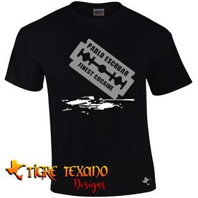 Playera Series Tv Pablo Escobar Mod. 12 Tigre Texano Designs