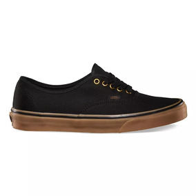 Tênis Authentic Vans Black/rubber 10647 Original