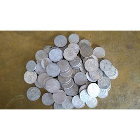 Lote Com 50 Moedas De Aluminio