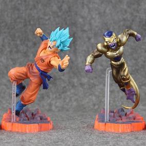 Action Figure Dragon Ball Z Super Son Goku + Golden Freeza