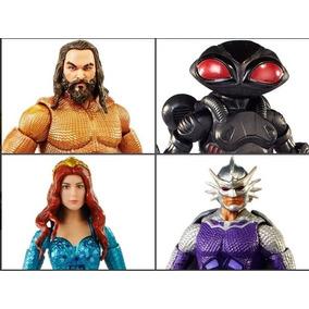 5 Bonecos Articulados Dc Comics Multiverse Filme Aquaman