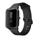 Relógio Smartwatch Xiaomi Amazfit Bip A1608 Preto Lacrado