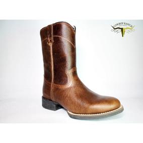 8ceeb1771a Bota Black Horse Texas Café Bico Redondo - 81006 - Btm022