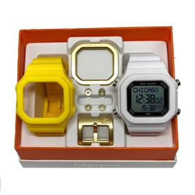 7a8038d8b7f Relogio Troca Pulseiras Champion Led Digital Unissex - Relógios De ...