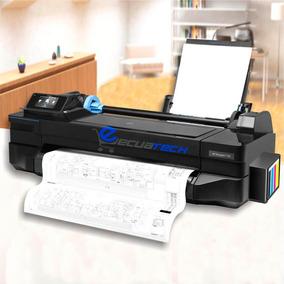 Plotter Hp T120 A1 A3 A4 Con Sistema De Tinta Garantía 1 Año