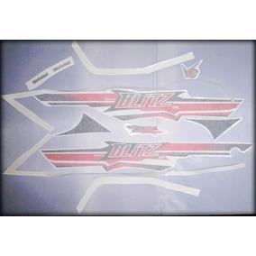 Jgo Calcos Rojo P/moto Roja Gris Negra Motomel Blitz 110 V8