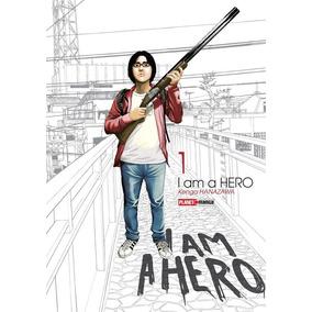 Mangá I Am A Hero 1-3 Novo Sem Juros
