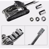 Kit Ferramentas Bike Canivete Chaves Multifunção 16 Em 1
