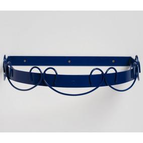 Dossel Infantil Arabesco 40cm X 35cm - Azul Marinho
