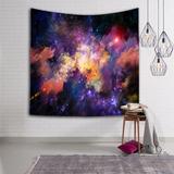 Manta Tapete Yoga Decorativo Nebulosa Galaxia