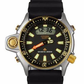 2b5d403ff92 Relógio Citizen Aqualand Jp2004-07e Série Ouro 12x Sem Juros
