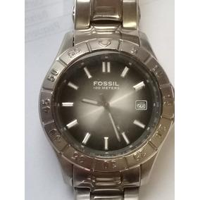 b67480952d1 Relogio Fossil Blue 100 Meters - Relógios De Pulso no Mercado Livre ...
