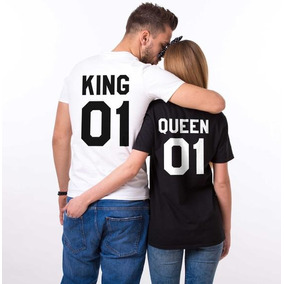 Playeras Para Pareja De King Y Queen.