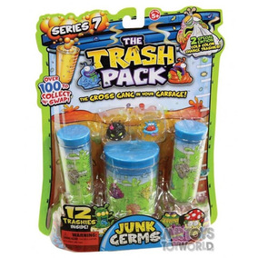 Trash Pack Blister C/ 12 -dtc - Cor: Verde - Tamanho: 1
