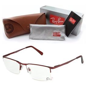 Armacao Oculos Masculino Secret - Óculos Vermelho no Mercado Livre ... 589a0a7b4b