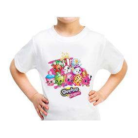 Playera Shopkins Shoppies Niñas Pastel Jugetes Muñecas