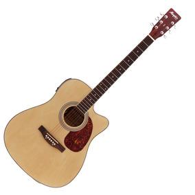 Violão Elétrico Folk Aço Md-18 Natural Memphis - Tagima