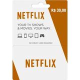 Cartão Netflix Pré Pago 6 Meses Ultra Hd