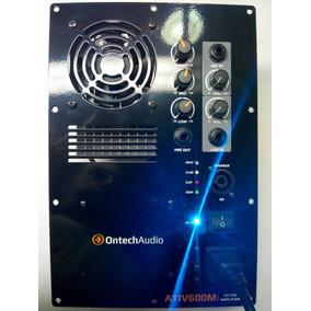Painel Amplificador Ativador De Caixa Ativ600m