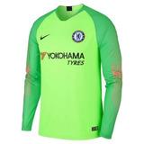 c567a9b084 Camisa Goleiro Oficial Chelsea 2019 Gk Verde Mangas Longas