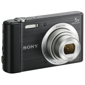 Câmera Digital Sony Cyber Shot Dsc - W800 Preta