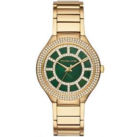 Relógio Michael Kors Kerry Green Crystal Mk3409/4vn