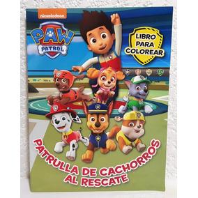 Paw Patrol Fiestas Libros Colorear 10 Pz 16 Paginas