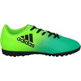Tenis De Fútbol Rápido adidas X 16.4 Tf Verde Envío Gratis 65edef853ccd2