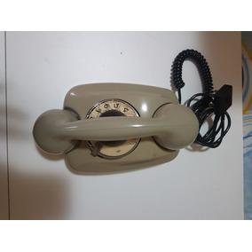 Telelefone Siemens Cinza,modelo:tartaruga De Disco coleção,