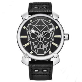 Relógio Benyar Caveira - Skull Original