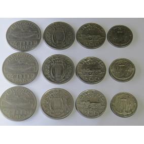 Série Completa Ilustres (1) -100 200 300 400 Réis 1936/37/38