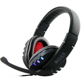 Fone Fio Headset Gamer Pc Playstation Ps4 Ps3 Boas