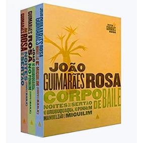 Box Livro Corpo Baile João Guimarães Rosa - Capa Dura - Novo