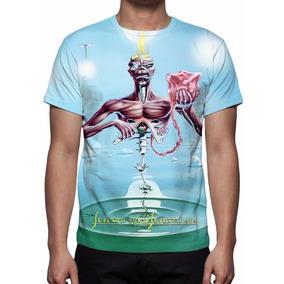 22fcd1e2f7 Iron Maiden Camisas Raras - Camisetas e Blusas no Mercado Livre Brasil
